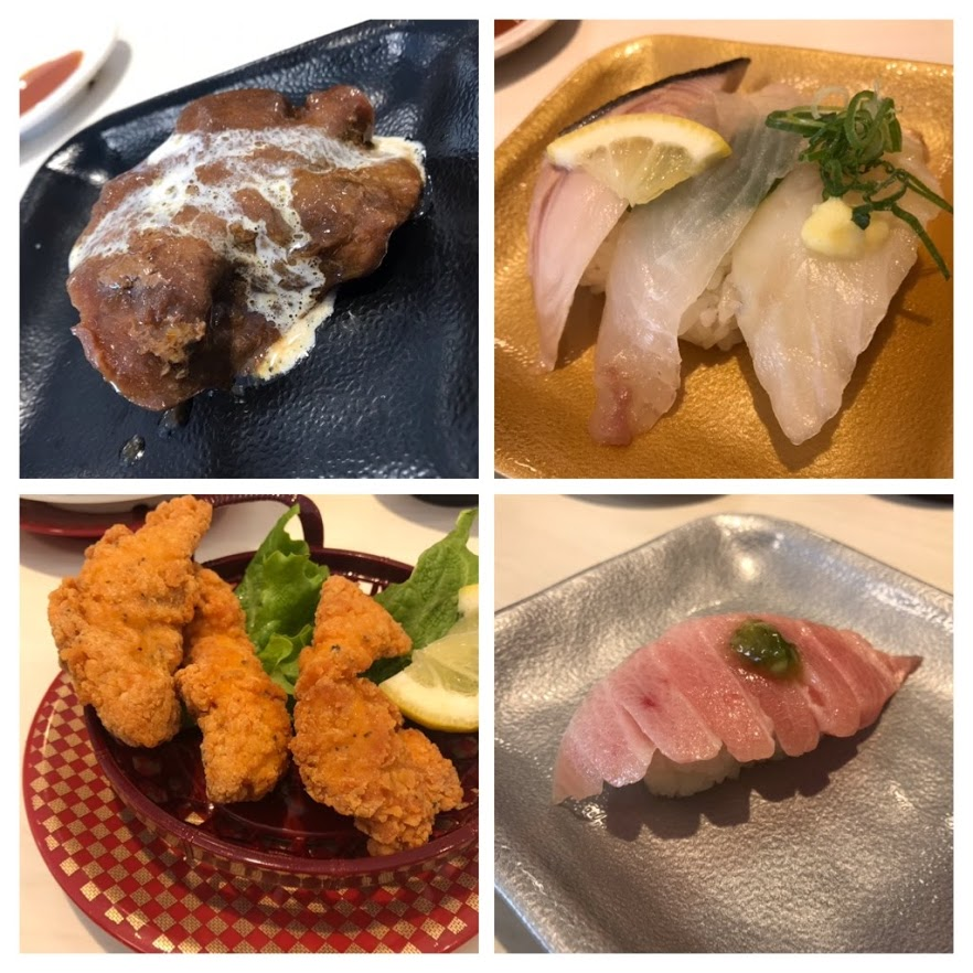 魚べい寿司ネタ
