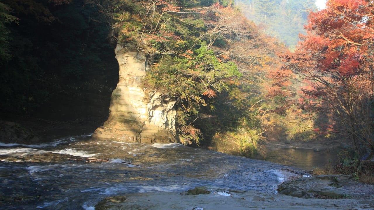 養老渓谷の秋